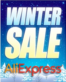 Aliexpress Winter Sale 20% OFF Coupon Code