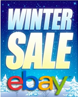 eBay Winter Sale 20% OFF Coupon Code