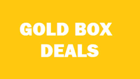 Up To 40% OFF & Amazon Gold Box Deals